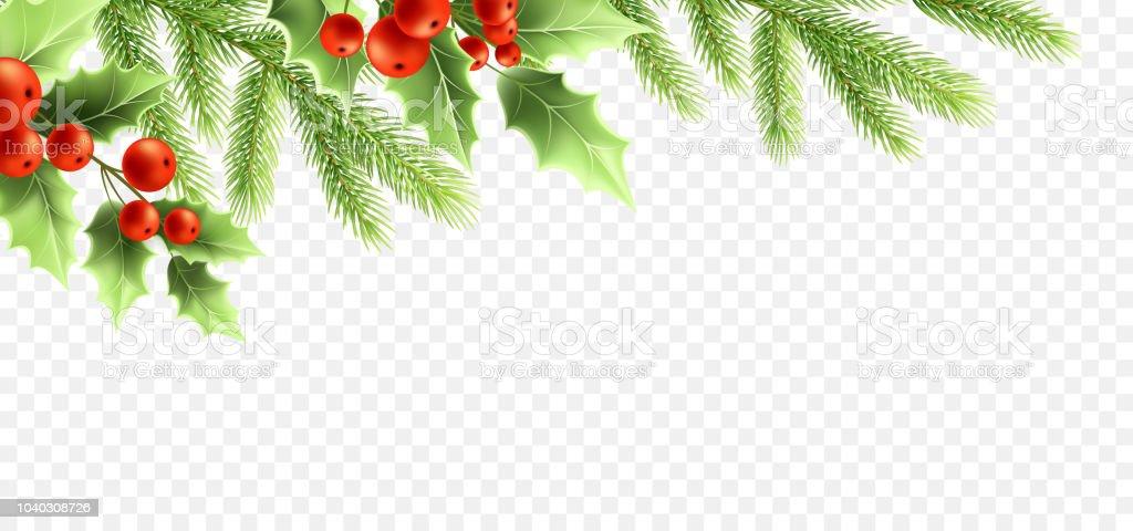 Christmas realistic decorations banner design. christmas realistic decorations banner design - immagini vettoriali stock e altre immagini di abete royalty-free