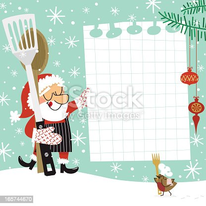 Santa Claus cooking.Please see some similar pictures in my lightboxs: