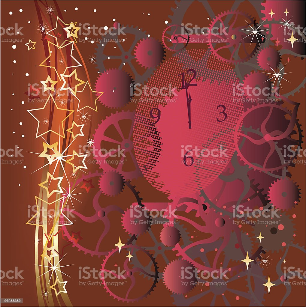 Christmas red background  Christmas stock vector