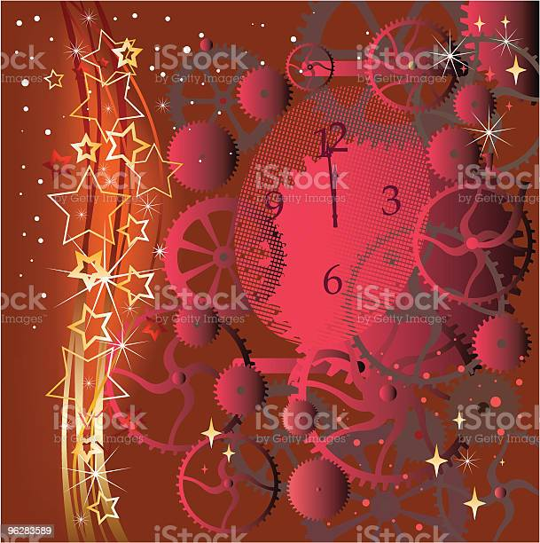 Christmas Red Background Stock Illustration - Download Image Now