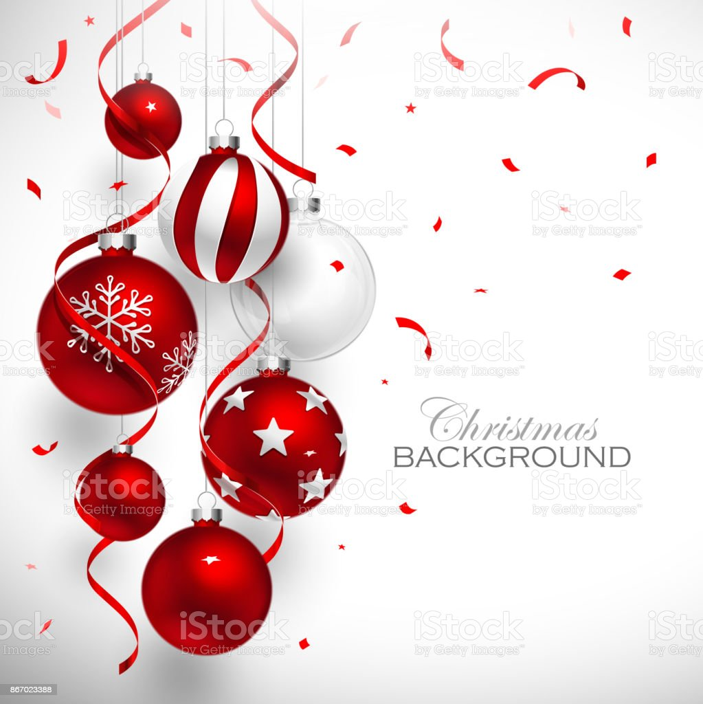 Christmas red balls royalty-free christmas red balls stock illustration - download image now
