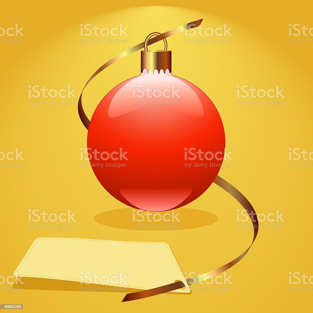 Christmas red bauble royalty-free christmas red bauble stock vector art & more images of backgrounds
