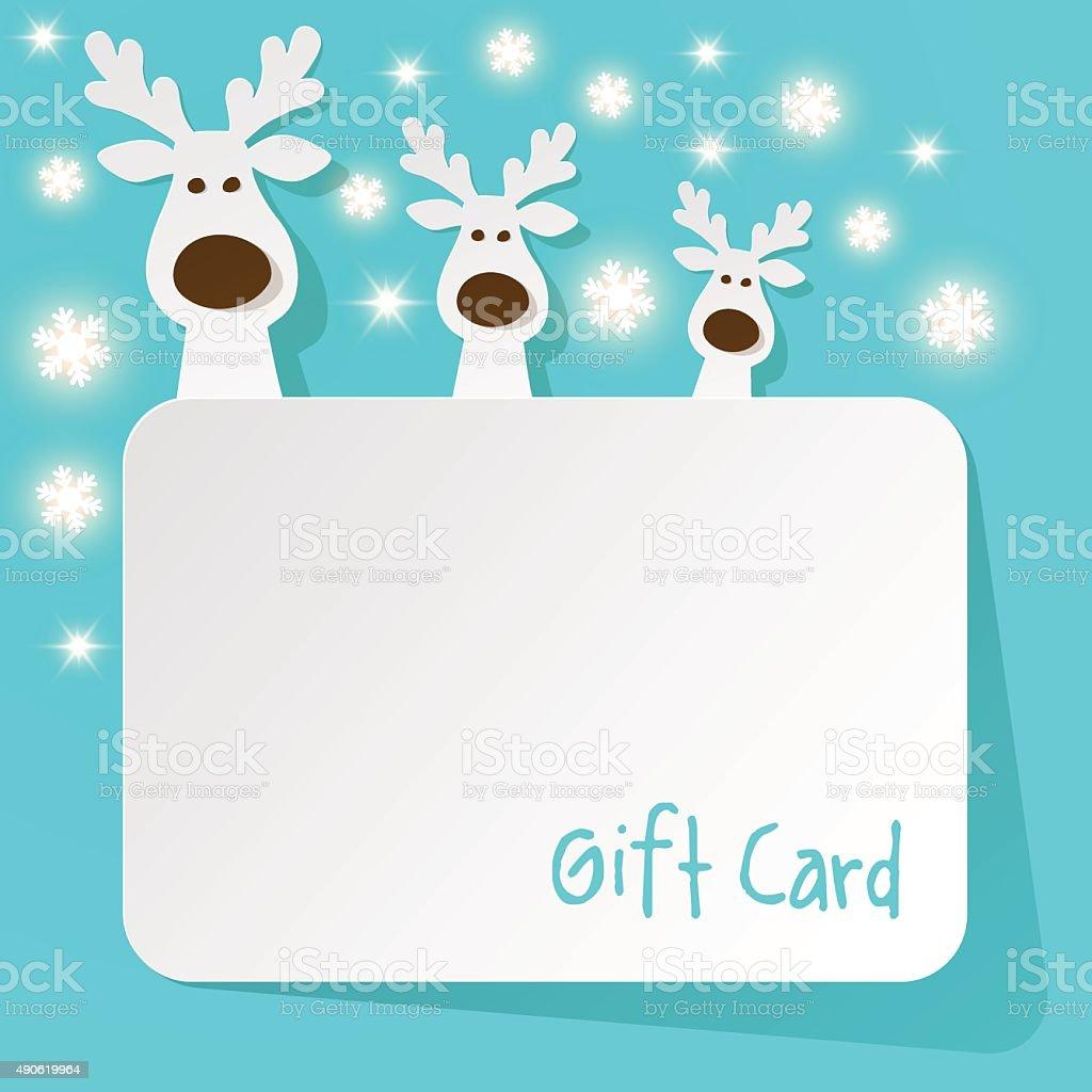 Sfondi Natalizi Renne.Renne Di Natale Su Sfondo Azzurro Con Fiocchi Di Neve Immagini