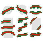 Christmas, Ribbons,