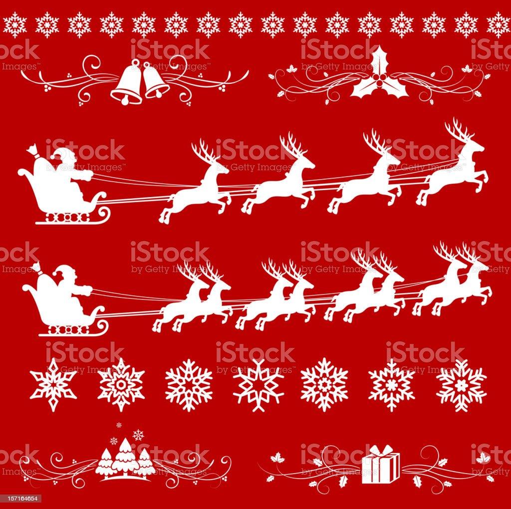 Weihnachten Lizenzfreie Bilder.Weihnachten Lizenzfreie Vektorkunst Auf Rot Weihnachten Hintergrund