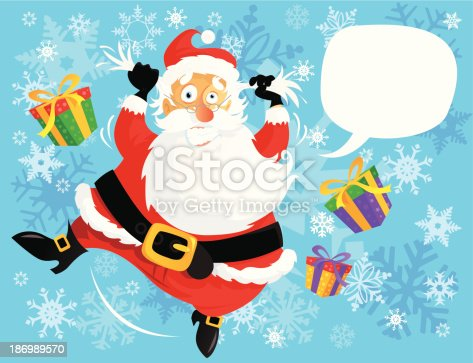 istock Christmas Rush hour 186989570