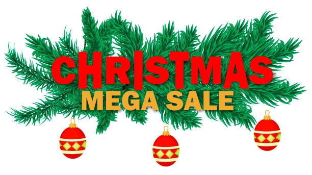 Top Christmas Tree Shop Flyer Clip Art Vector Graphics And