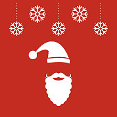 Vector of Christmas Sale banner with Santa Claus. EPS Ai 10 file format.