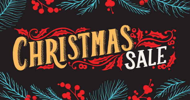 Royalty Free The Christmas Tree Shop Flyer Clip Art Vector Images
