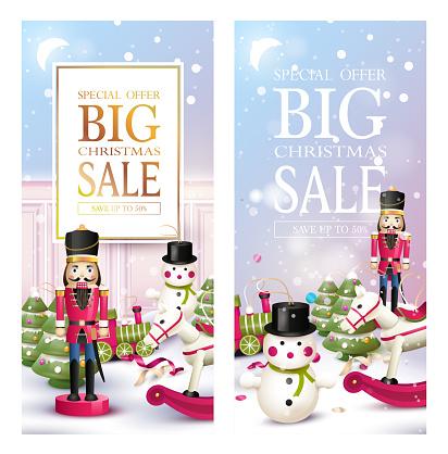 Christmas sale headers or banners