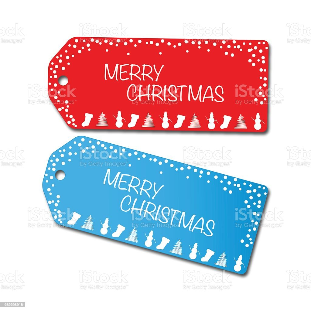 Christmas Sale Tags Illustration royalty-free christmas sale tags illustration stock vector art & more images of business finance and industry