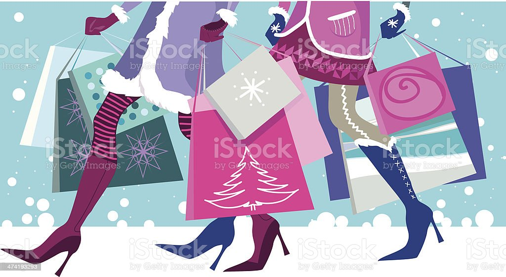 Christmas sale royalty-free stock vector art