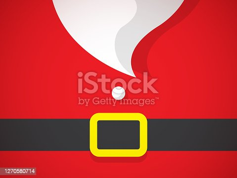 istock Christmas Santa Claus Beard Greeting Card 1270580714