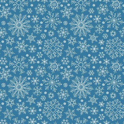 Ilustración de Patrón Transparente Doodle De Navidad y más Vectores Libres de Derechos de Alegre
