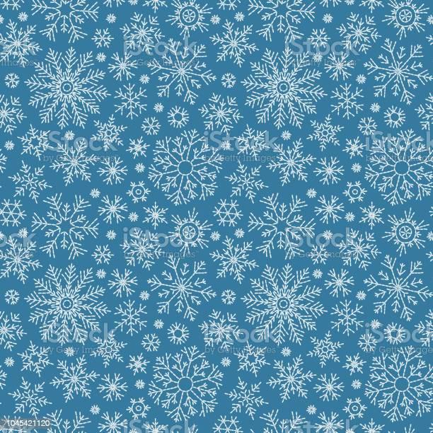 Weihnachtennahtlose Doodlemuster Stock Vektor Art und mehr Bilder von Bildhintergrund