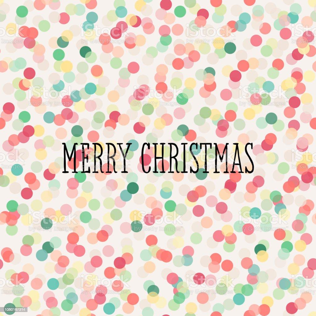 Weihnachtsgrüße Muster.Nahtloses Muster Mit Pastell Konfetti Und Frohe Weihnachtsgrüße