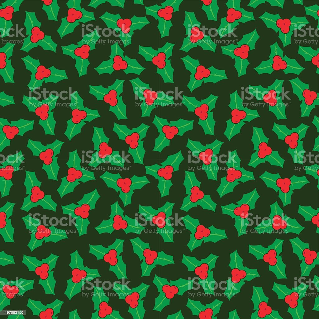 Christmas Seamless Vector Pattern 20 vector art illustration