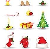 vector file of Christmas set