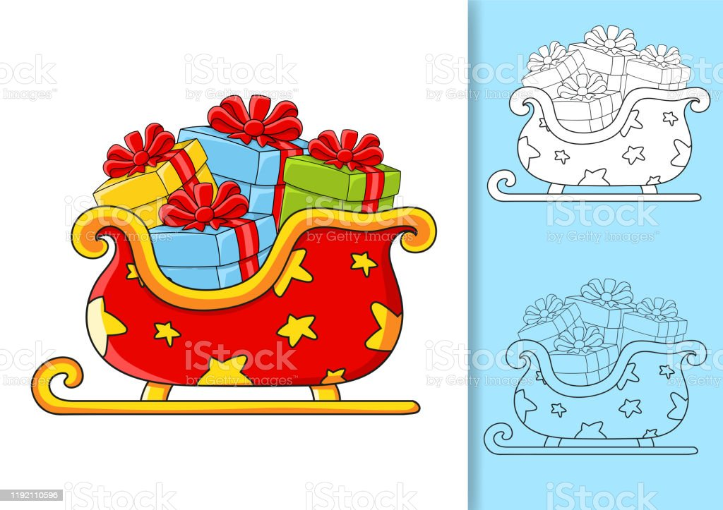 Christmas Reindeer Coloring Pages - GetColoringPages.com