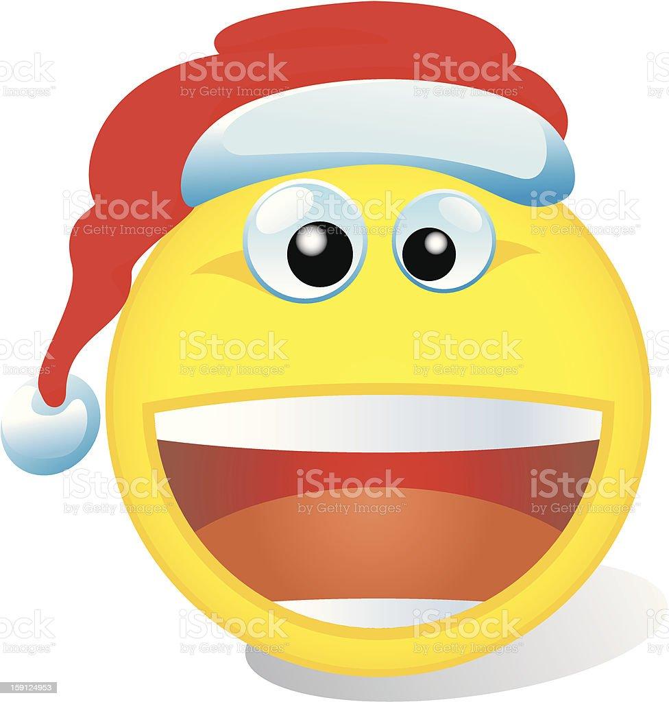 Weihnachten Smiley Stock Vektor Art und mehr Bilder von Dem ...