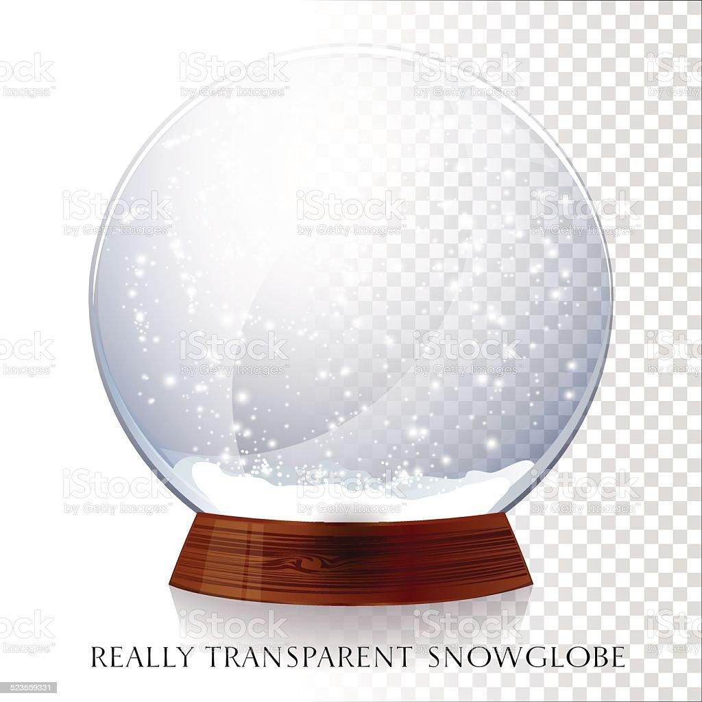 Globo de neve de Natal - ilustração de arte em vetor