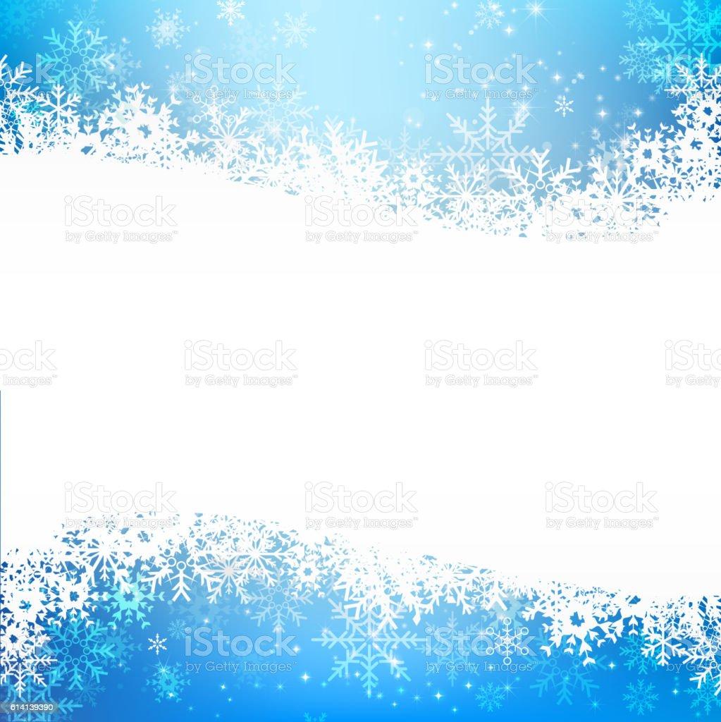 Christmas Snowflake And Starlight Abstract Bakcground Vector Ill ...