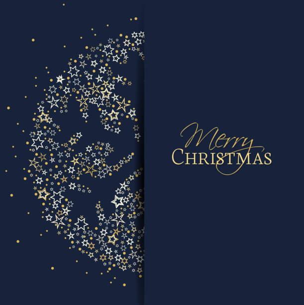christmas snowflake decoration - поздравительная открытка stock illustrations