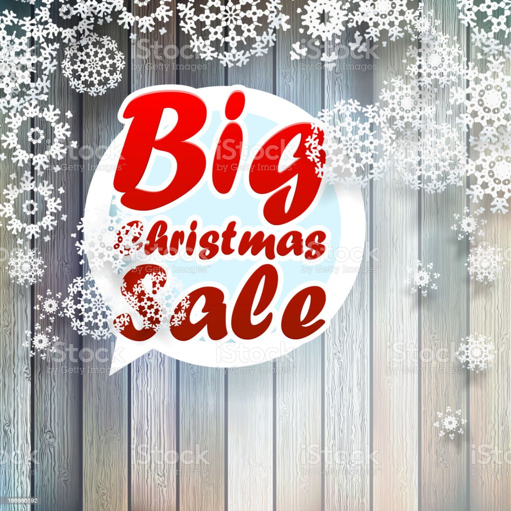 Christmas snowflakes with big sale. royalty-free christmas snowflakes with big sale stock vector art & more images of celebration