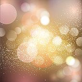 Christmas, Lighting Equipment, Party - Social Event, Text, Glitter
