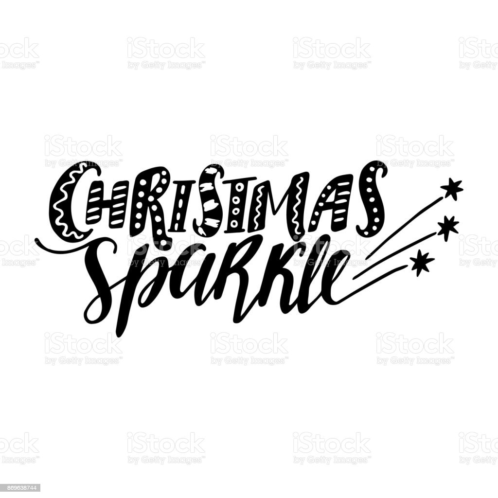 Christmas sparkle quote vector text for design greeting cards photo christmas sparkle quote vector text for design greeting cards photo overlays prints kristyandbryce Choice Image