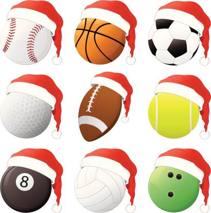 Christmas Sports Balls