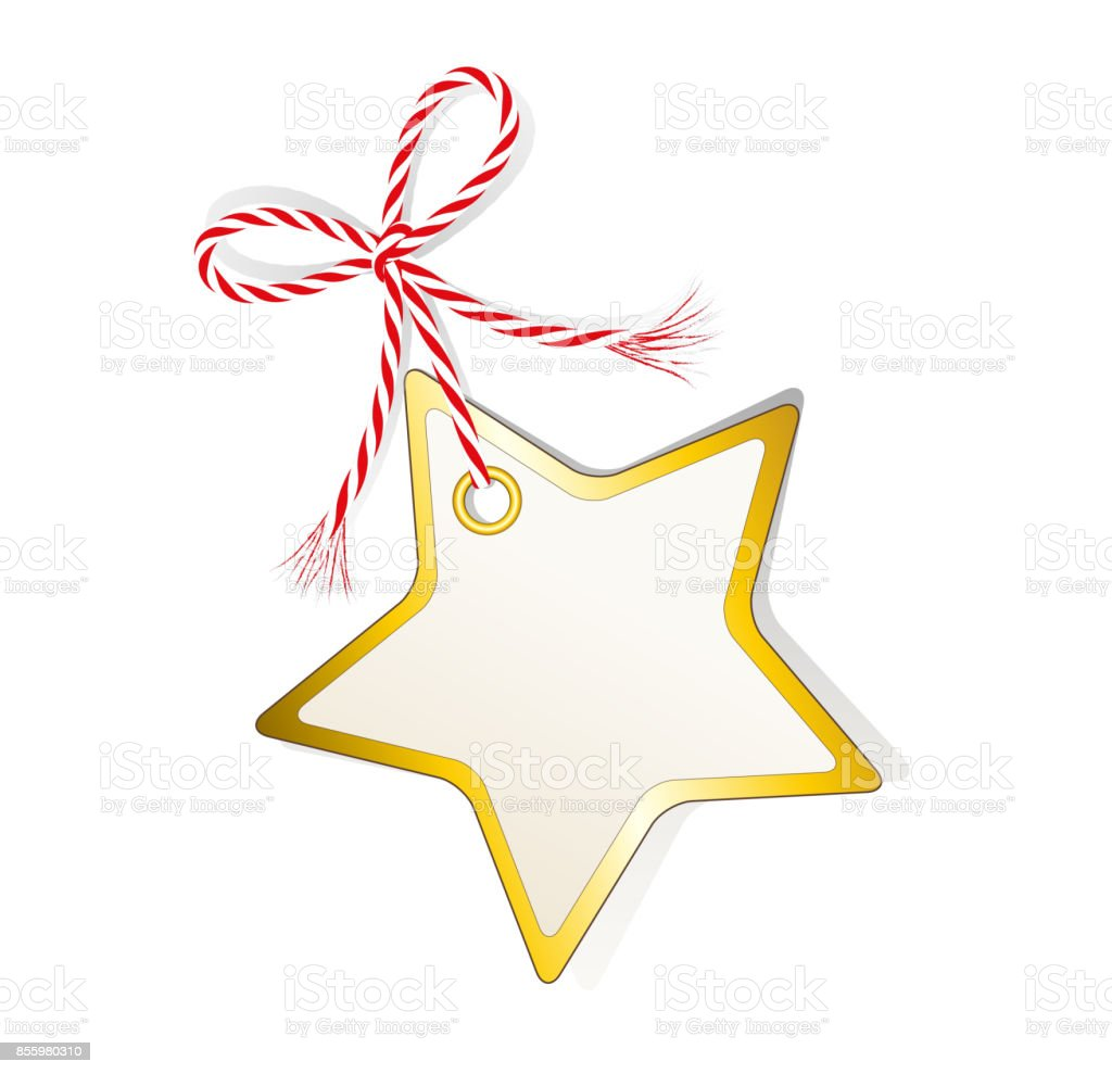 christmas star label price tag gift tag sale tag christmas card blank - Christmas Card Sale