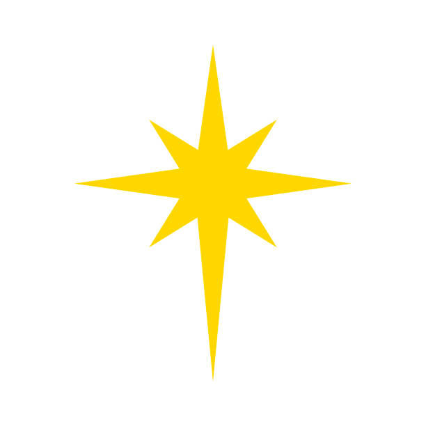Best Christmas Star Illustrations, Royalty-Free Vector ...