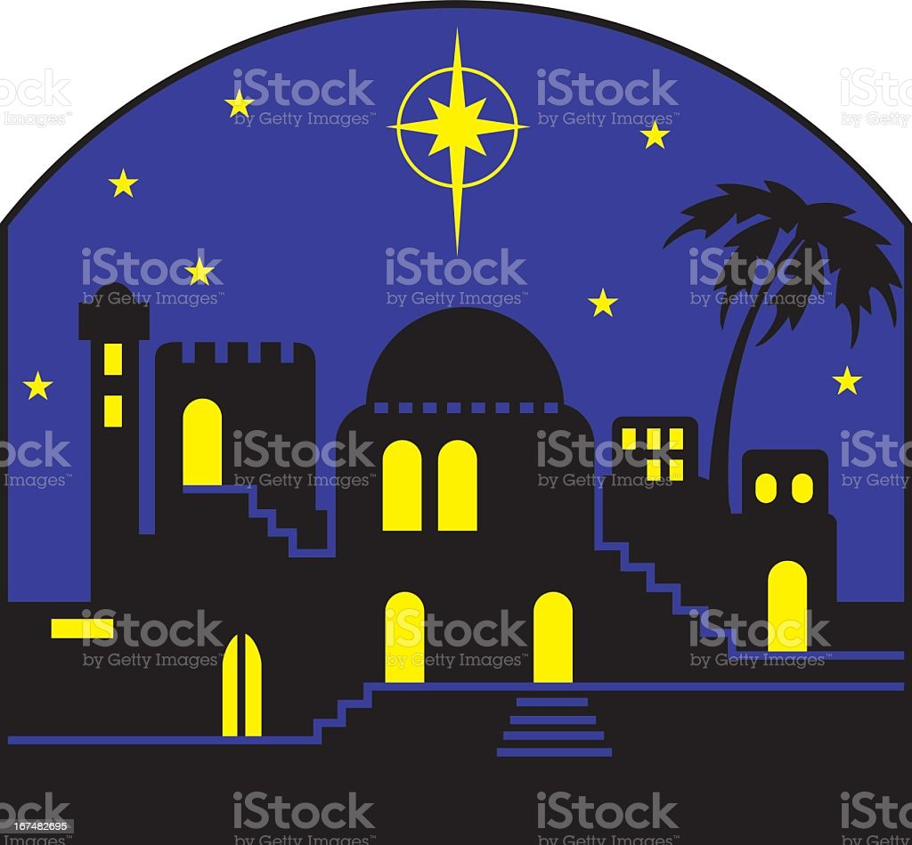 Christmas Star royalty-free stock vector art