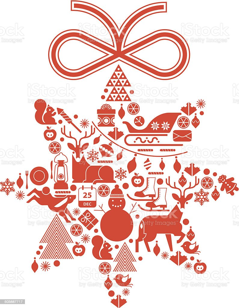 Christmas star. royalty-free christmas star stock vector art & more images of bird