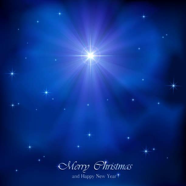 stockillustraties, clipart, cartoons en iconen met christmas star - kerstster
