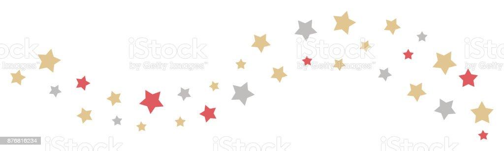 Weihnachten Sterne Rand Und Header Dekoration Fur Ihre