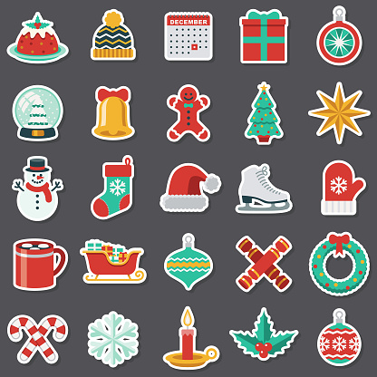 Christmas Sticker Set