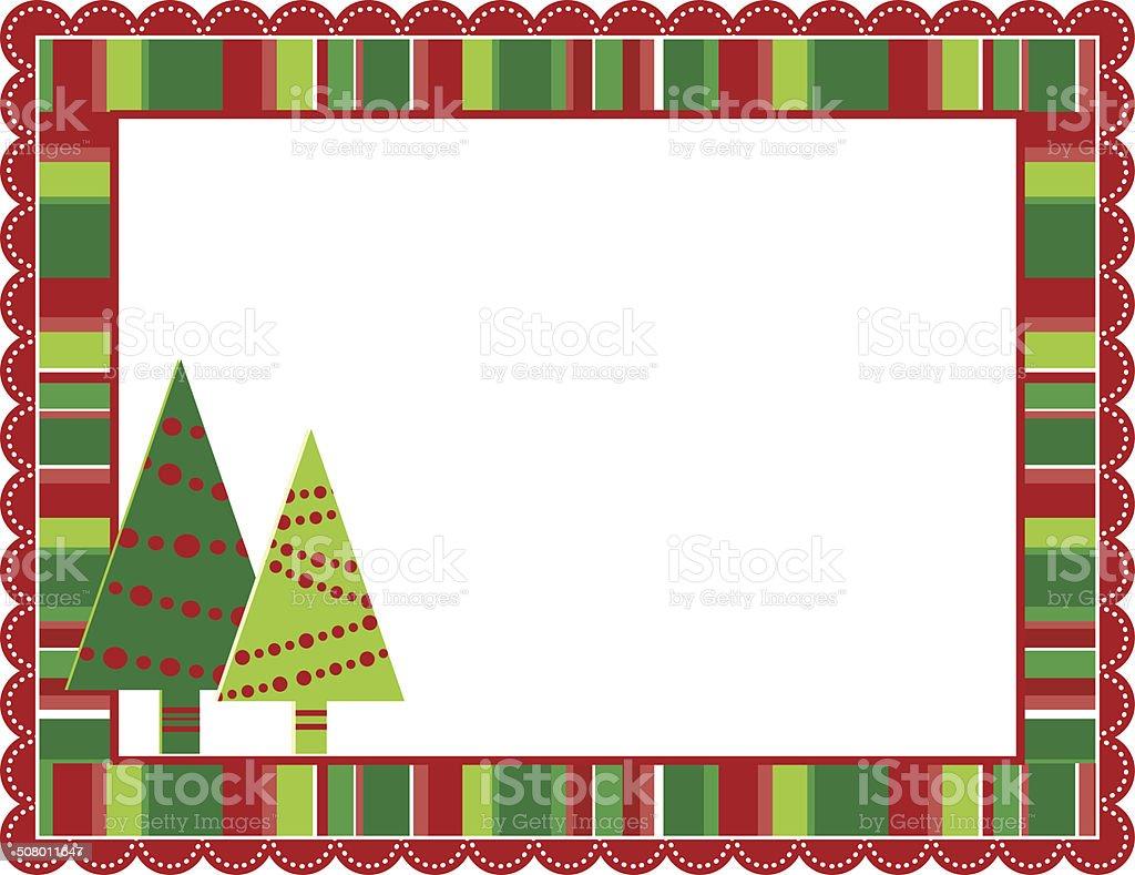 クリスマス剥きフレーム イラストレーションのベクターアート素材や