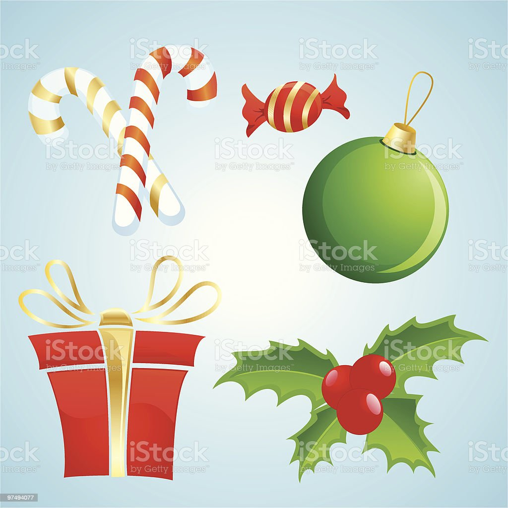 Christmas Stuff royalty-free christmas stuff stock vector art & more images of berry fruit