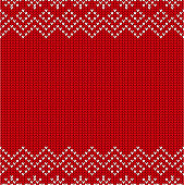 istock Christmas sweater pattern 1194143093
