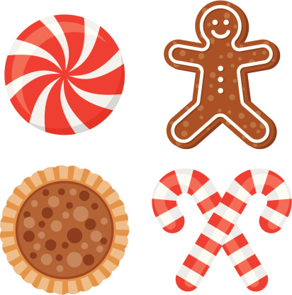 Christmas Sweets Stock Illustration - Download Image Now