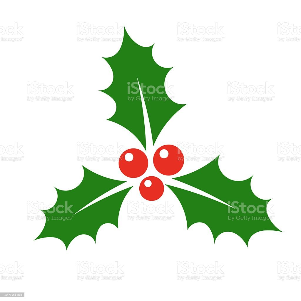 Immagini Agrifoglio Di Natale.Simbolo Di Natale Agrifoglio Immagini Vettoriali Stock E