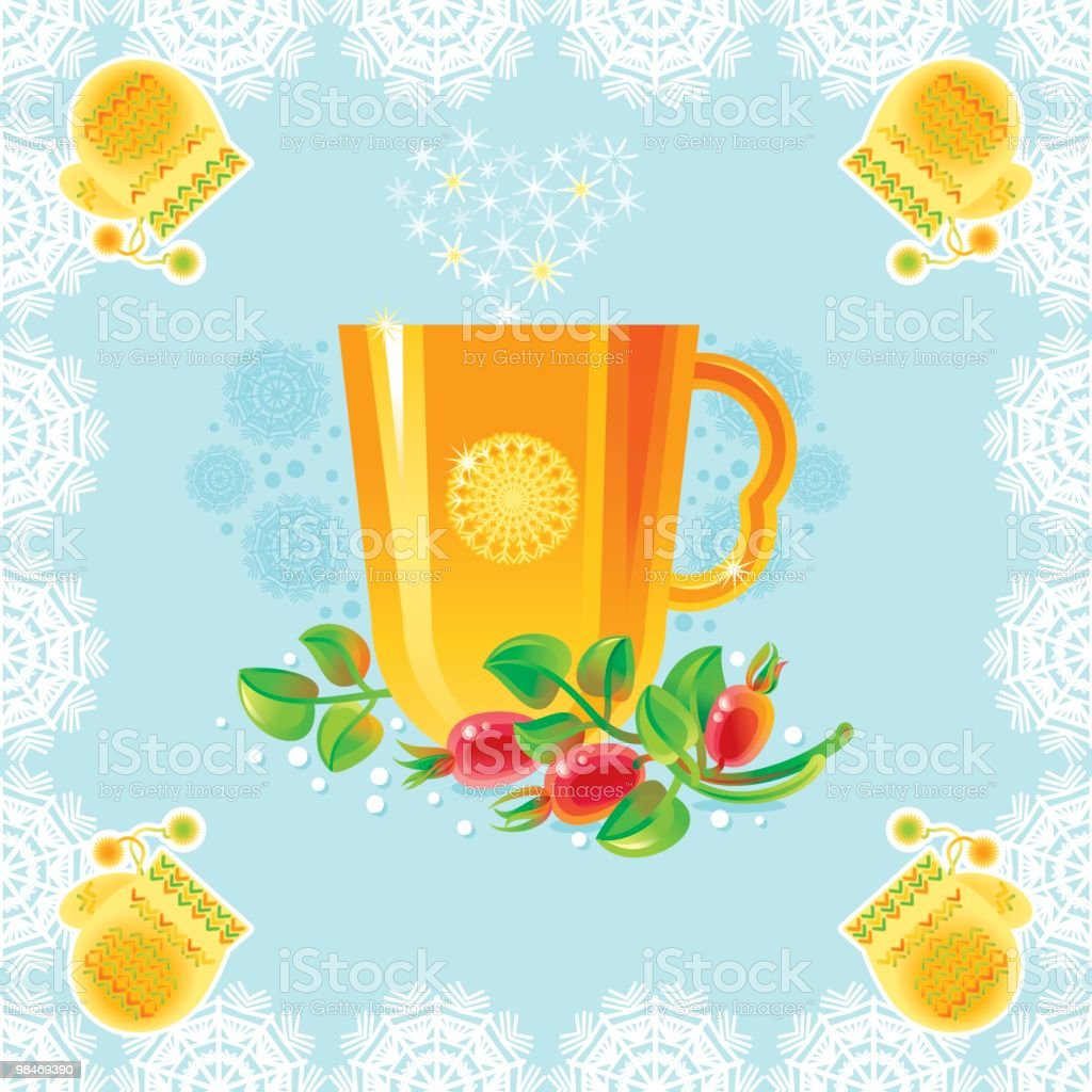 Christmas tea royalty-free christmas tea stock vector art & more images of berry