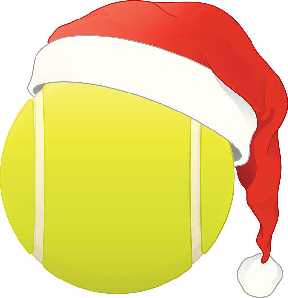 Best Tennis Christmas Illustrations, Royalty-Free Vector ...