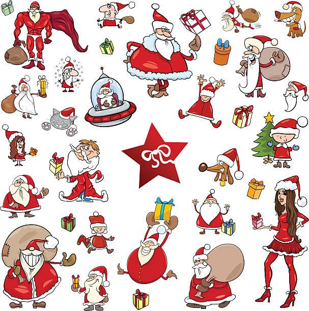 Royalty free vector merry christmas greeting cat card clip art christmas theme cartoons vector art illustration m4hsunfo