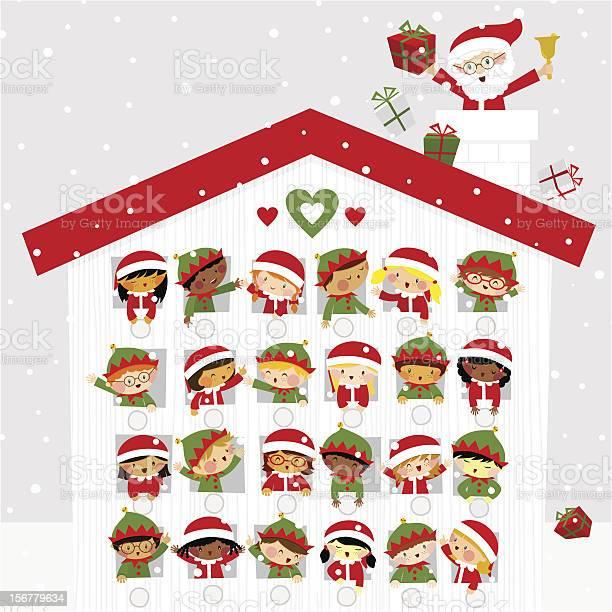 Christmas time cute kids elf santaclaus present gift snow calendar vector id156779634?b=1&k=6&m=156779634&s=612x612&h=ibubarf qst0cqv4wfsfjtjv5pelobxv5nanotn7hjo=