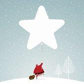 Santa and a big star balloon http://i681.photobucket.com/albums/vv179/myistock/xma.jpg