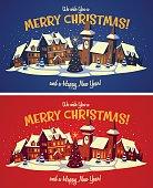 Christmas card \ poster \ banner. Vector illustration