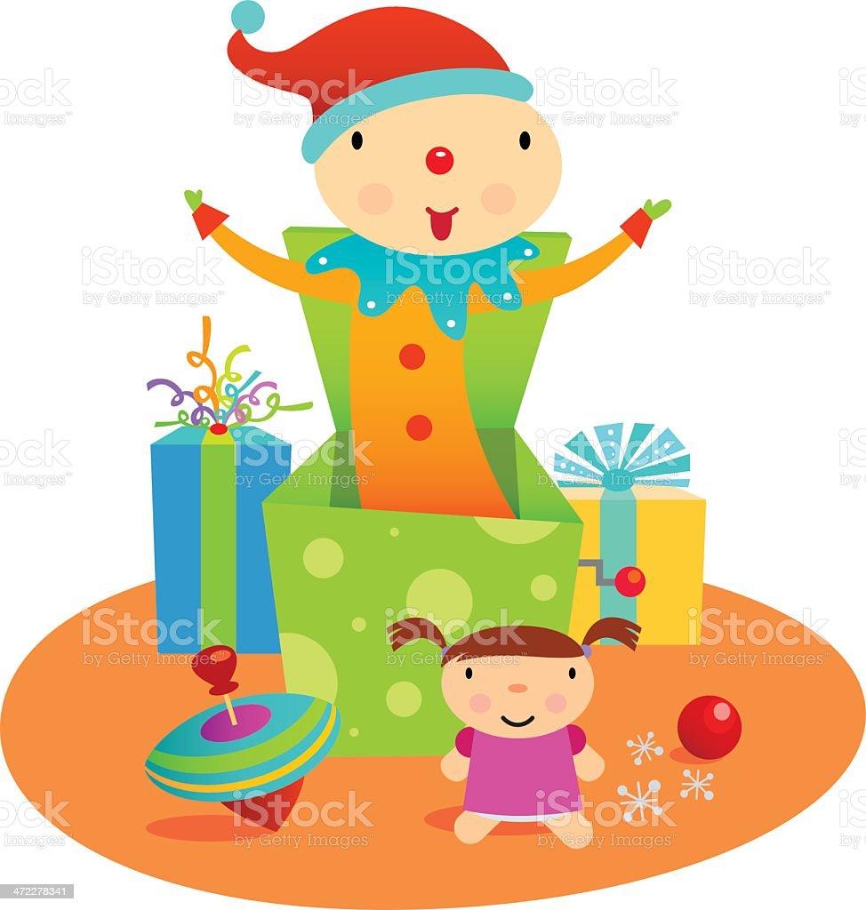 Christmas Toys royalty-free stock vector art